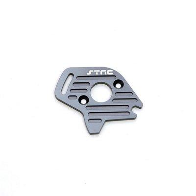 ST Racing Concepts ST6890GM Aluminum Heatsink Finned Motor Plate for Slash 4 x 4 (Gun Metal)