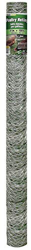 Mat 308498B 72-Inch by 150-Feet 2-Inch Mesh Galvanized Poultry -