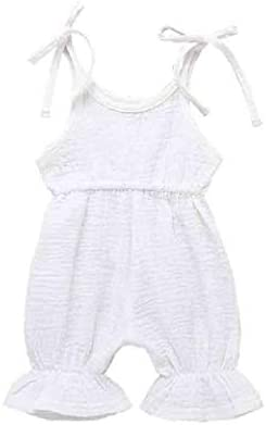 Tootess Unisex 6-Pack Comfy Firsts Baby Cute Cotton Breathable Sling Bodysuits