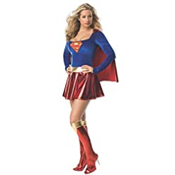 Secret Wishes Women's Adult Supergirl Costume