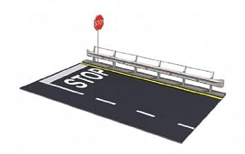 Italeri I3864 - Sección de Carretera con señal de Stop para ...