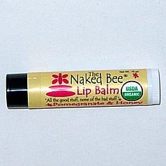 The Naked Bee Pomegranate And Honey Lip Balm, 0.09 Ounce