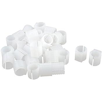 Amazon Com Uxcell Plastic Round U Shaped Chair Foot Floor