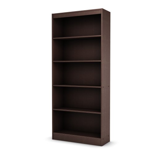 South Shore 5-Shelf Storage Bookcase, ()