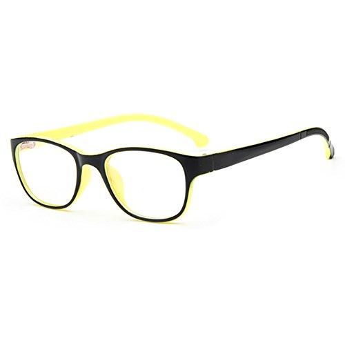 45ddc0d8f7c57d Filles Garçons Lunettes - Verres à lentilles transparentes Cadre Geek    Nerd Eyewear Lunettes avec boîtier