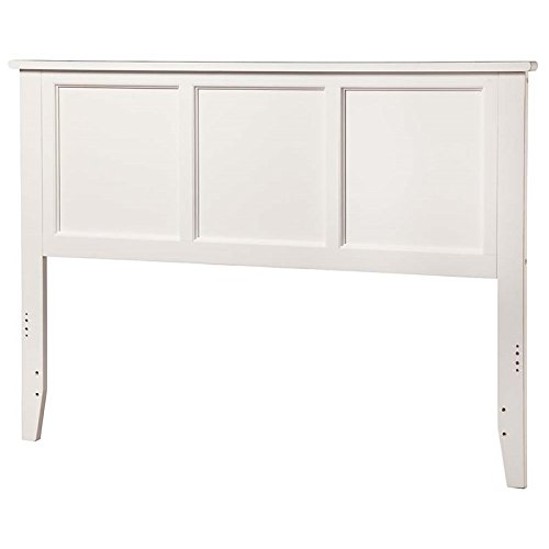 Leo & Lacey Queen Panel Headboard in White by Leo & Lacey