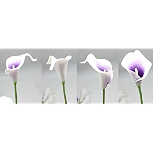 En Ge 10 Heads Mini Calla Lily Bridal Wedding Bouquet Real Touch Flower Bouquets 2