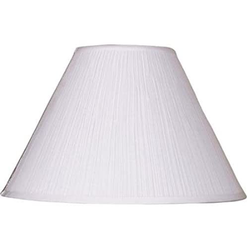Better Homes And Gardens Soft Pleat Lamp Shade, White