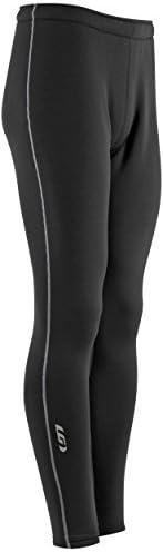 Black Louis Garneau Men/'s Training Pants Small