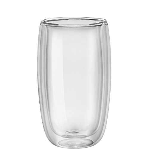 ZWILLING Sorrento 8-pc Double-Wall Glass Latte Cup Set
