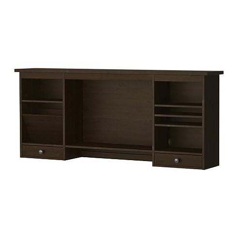 Ikea schreibtisch schwarzbraun  IKEA HEMNES -Add-on- Einheit Schreibtisch schwarz-braun - 152x63 ...