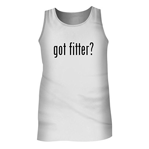 Tracy Gifts Got Fitter? - Men's Adult Tank Top, White, Large