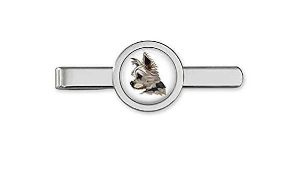 Yorkshire Terrier Tie Clip Dog Terrier Tie Bar Dog Tie Clasp~Handmade in the USA~FAST Shipping from the USA~