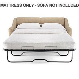 lifetime sleep products sofa sleeper replacement memory foam mattress, full