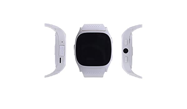 hangang Smartwatch T8 M Bluetooth Smart reloj con monitor de frecuencia cardíaca Fitness Tracker para Android teléfono IOS iPhone 7 7Plus 8 8plus X, ...