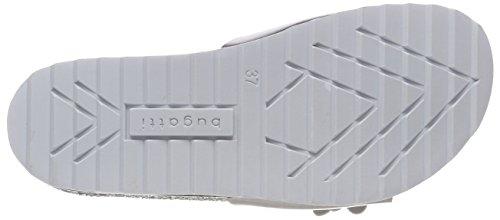 Femme Bugatti 421472915900 Argent Silver Mules ROHnOv