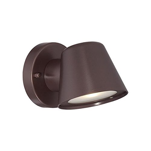 Acclaim 1404ABZ LED Wall Sconces Collection 1-Light Wall Mount Outdoor Light Fixture, Architectural Bronze