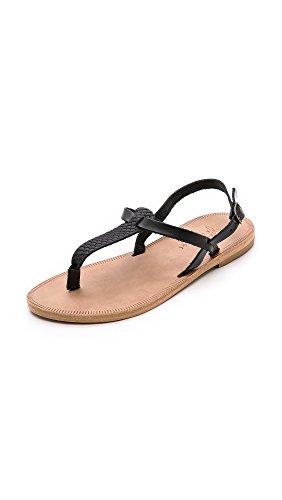 Joie Women's A la Plage Topanga Sandals, Black, 39.5 EU (9.5 B(M) US Women)