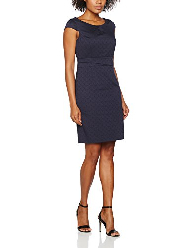 Kleid Konfi Jac comma 59b0 Damen Graphic Blau Htxq51