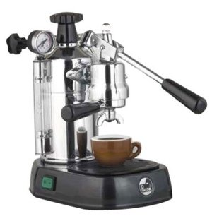 La Pavoni Professional PBB-16 Espresso Machine Black Base from La Pavoni