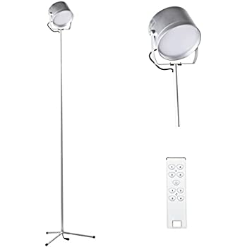 bright floor lamp for office led mighty and magnifier feet remote control living room bedroom white