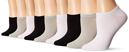 Bamboo Thin Casual Socks Women Pack of 9 - Moisture Wicking Sweat Proof Odor Free Ultra Soft Material   Athletic Casual Ankle Socks   9 Pairs Assorted Colors (3 Black, 3 Grey, 3 White)
