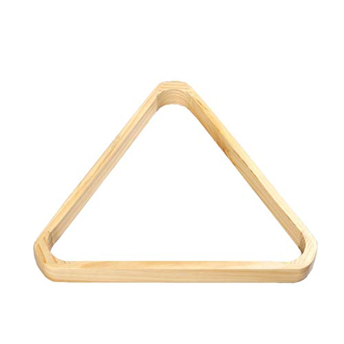 ZXH Billard Triangle, 2 1/16 Inch (52.5mm) 15 Ball Solid Wood Snooker Triangle-for 16 Red Balls ()