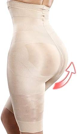SHANSHIRF Corpo Shapewear Vita Trainer Body Shaper di dimagramento della Biancheria Intima Shapers Butt Lifter Senza Saldatura Pancia Controllo Mutandine Shapewear Color : Black, Size : S