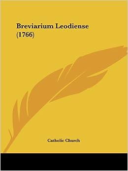 Book Breviarium Leodiense (1766) (Latin Edition)