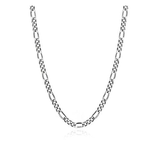 YFN Sterling Singapore Twisted Necklace