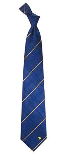 West Virginia Oxford Stripe Woven Silk Necktie ()