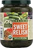 pickle gum - Woodstock Farms Organic Sweet Relish, 16 Ounce -- 12 per case.