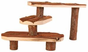 Trixie 6214 Natural Living Stairs for Small Animals 38 脳 24 cm