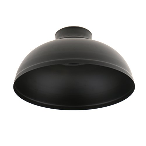 Black Pendant Light Shade - 8