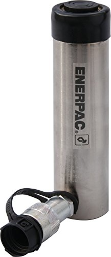 """Enerpac RC-256NV Single-Acting Hydraulic Cylinder with 5 Ton Capacity, Single Port, 6"""" Stroke"""
