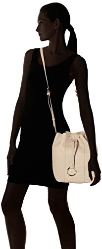 Women's Pebble Shbucketm Liebeskind Grey Beige string Cross body 9110 Bag Berlin Oq5TnTx4