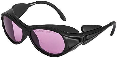 Gafas De Seguridad 780Nm 808Nm 810Nm 830Nm 850Nm Protección Láser IR De Protección Gafas De Belleza Lentes De Seguridad De Protección De Los Vidrios