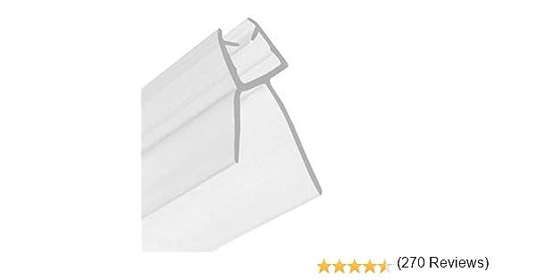 Home Standard® - Junta para mamparas de ducha (grosor de vidrio 4 ...