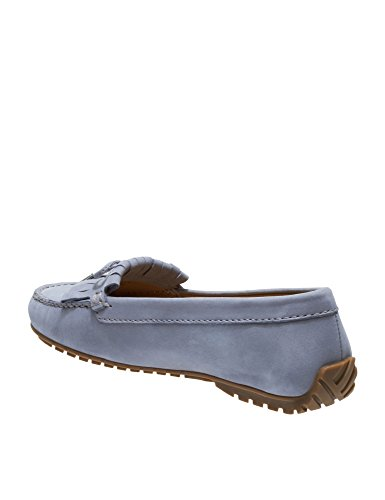 Harper Tie Women's Lt Nubuck Loafers Grey Leather Kiltie Sebago R6vzWq4