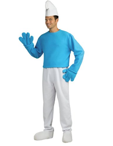 Rubie's Costume The Smurfs 2 Adult Deluxe Smurf, Blue/White, Standard Costume ()