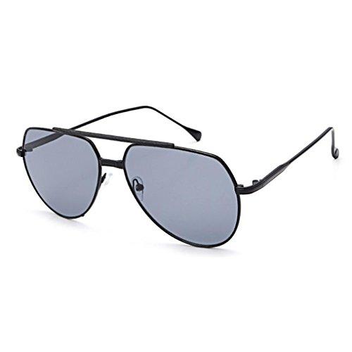 Transer Twin-Beams Geometry Design Women Metal Frame Mirror Sunglasses Cat Eye Glasses - Frames Eyeglasses Sale For