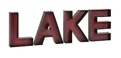 IMAX+88438+Lake+Metal+Wall+Letters