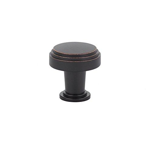Emtek 86432 Newport 1-1/4 Inch Diameter Mushroom Cabinet Knob from the American, Oil Rubbed Bronze ()