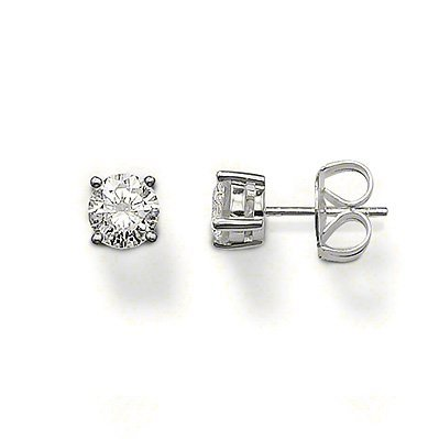 Sabo Thomas Earrings (Thomas Sabo Stud Earrings with White Zirconia)