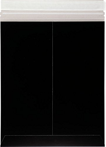 6 x 9 Colored Paperboard Mailers - Midnight Black (500 Qty.)