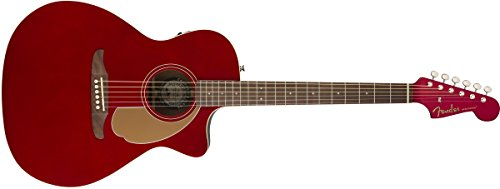 fender newporter player california series acoustic guitar candy apple red finish buy. Black Bedroom Furniture Sets. Home Design Ideas