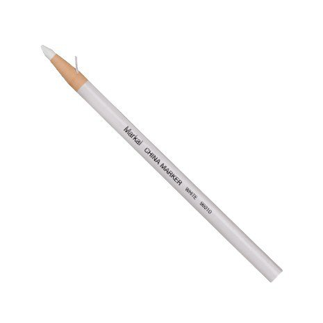 China Markers, White, Paper-wrapped (13 Pack)