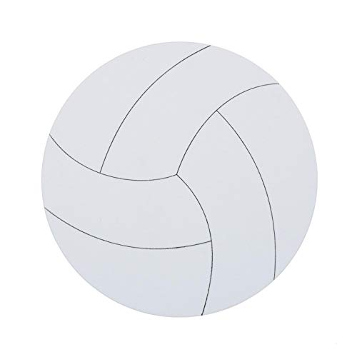 Bulk Buy: Darice Foamies Base Volleyball 9 inches (12-Pack) 106-202