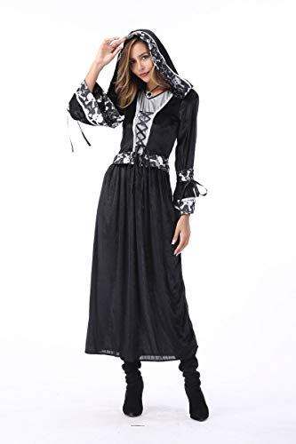 Simmia Halloween Costumes Halloween Costume Death god Court Arab Costume Vampire, Female Models, XL for $<!--$63.00-->