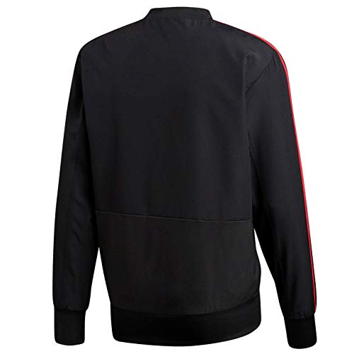 Sudadera blaze Pink hombre Pre core Red Adidas Nero Jkt para Mufc Z01rwZq